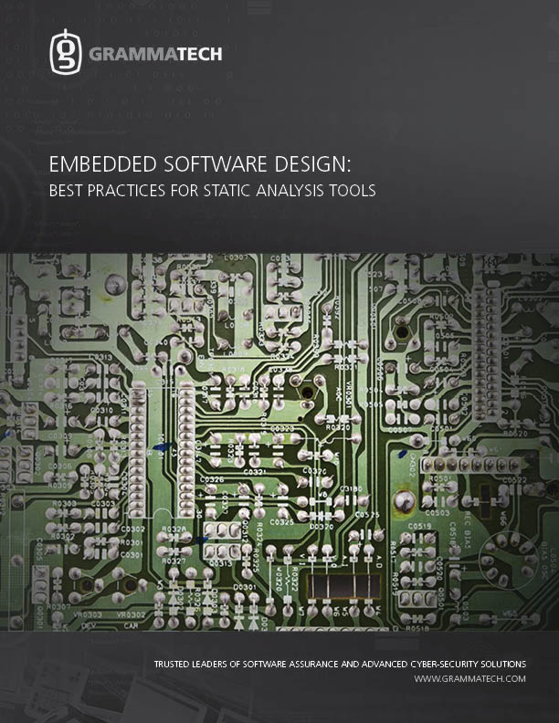 Embedded Software Design: Understanding Best Practices for Static Analysis Tools